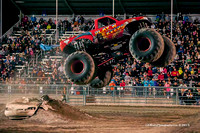 2015-05-02 WGAS Les Schwab Tires Monster Truck Spring Nationals Series Santa Rosa 7:30pm Show
