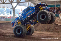 2014-07-02 5pm Monster Truck & Junior Outlaw Sprint Racing
