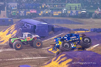 2014-01-11 MONSTER JAM® @ Anaheim Angel Stadium