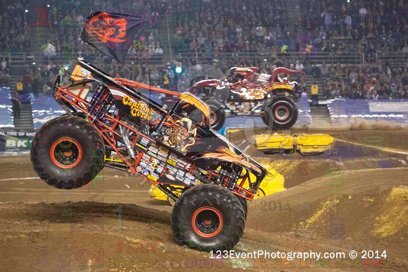 2014-01-18 MONSTER JAM® @ Qualcomm Stadium