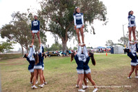2014 & 2013 Madison High Cheer Squad at Clairemont Family Day