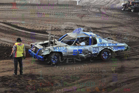 2017-06-24 1 & 5pm Demolition Derby San Diego County Fair