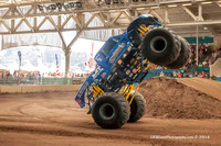 2014-07-01 1pm Monster Truck Wheelie Contest & Trophy Cart Racing